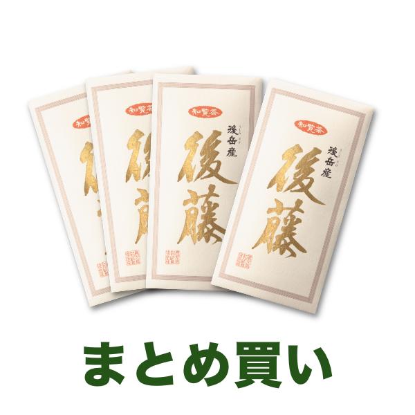【送料無料】知覧茶 後藤80g 4袋まとめ買い