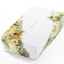 ボトリング吟穣茶 2本用フラワーボックス(冬)