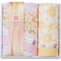 【送料無料】 しまなみ匠の彩 白桜 フェイスタオル・ウォッシュタオル ( soumu_U45-03 )