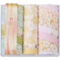 【送料無料】 しまなみ匠の彩 白桜 フェイスタオル2P・ウォッシュタオル ( soumu_U45-05 )