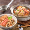 【送料無料 産地直送】つみれ鍋と海鮮おこわ詰合せ(OKS-A98)
