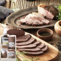 【送料無料 産地直送】超熟 天然鹿肉・猪肉・宮崎牛ロースト3種セット(S35805)