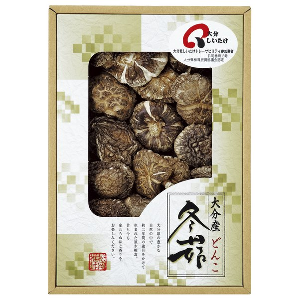 大分産原木乾椎茸どんこ ●06168468