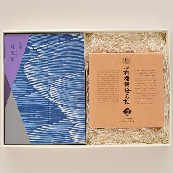 カタログギフト 沙羅 月見草+梅干しセット