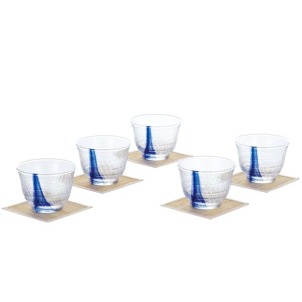 日本製 流舞 冷茶セット