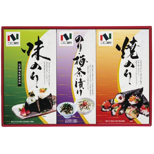 20%OFF|ニコニコのり 海苔・茶漬詰合せ ※ ●518032G