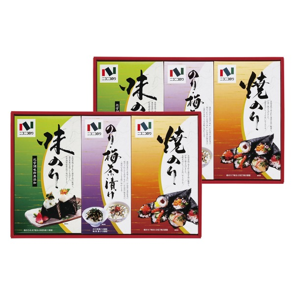 20%OFF|ニコニコのり 海苔・茶漬詰合せ ※ ●518056G