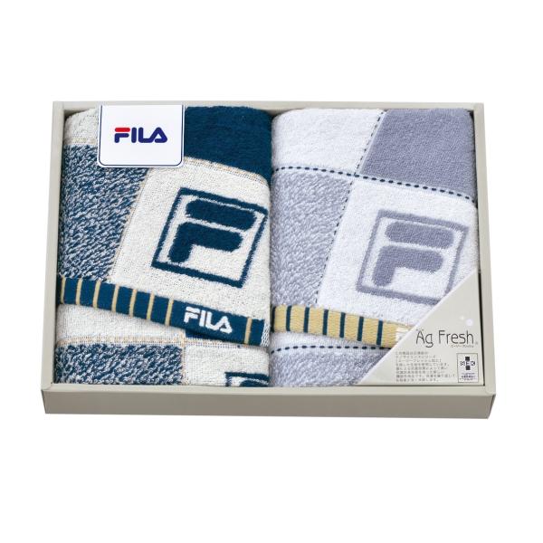 FILA スペラーレ フェイスタオル2P