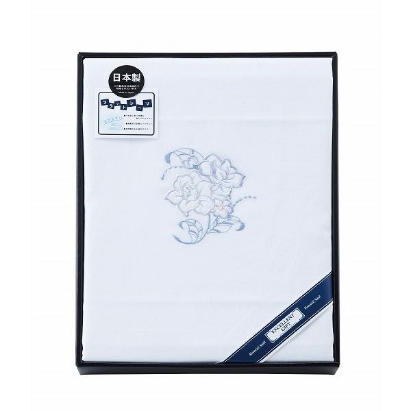 メモリアル ソレイユ 日本製 ダブルサイズ 平織シーツ