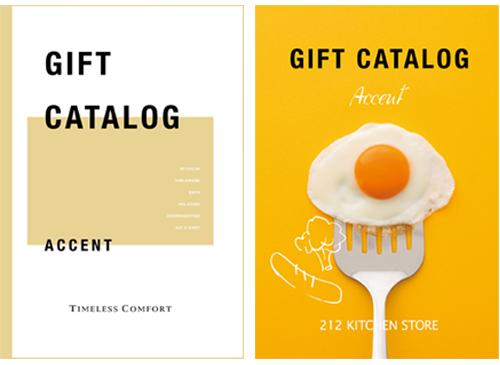 カタログギフト タイムレスコンフォート&212キッチンストア アクセントコース ※2冊から商品を1点お選びいただけます  [送料無料]   ●16179006
