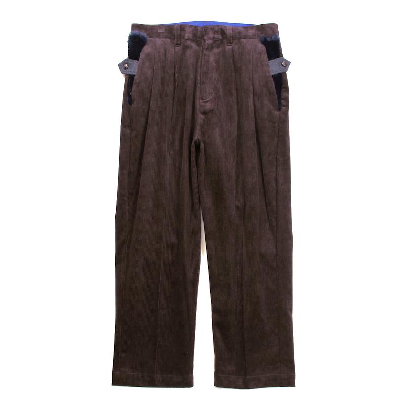 elephant TRIBAL fabrics INCOMPLETE LENGTH PT BROWN