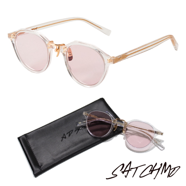 A.D.S.R SATCHMO 03b CLEAR/GOLD (Lt.PINK)