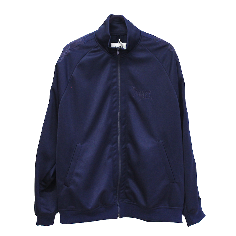 doublet CHAOS EMBROIDERY TRACK JACKET NAVY