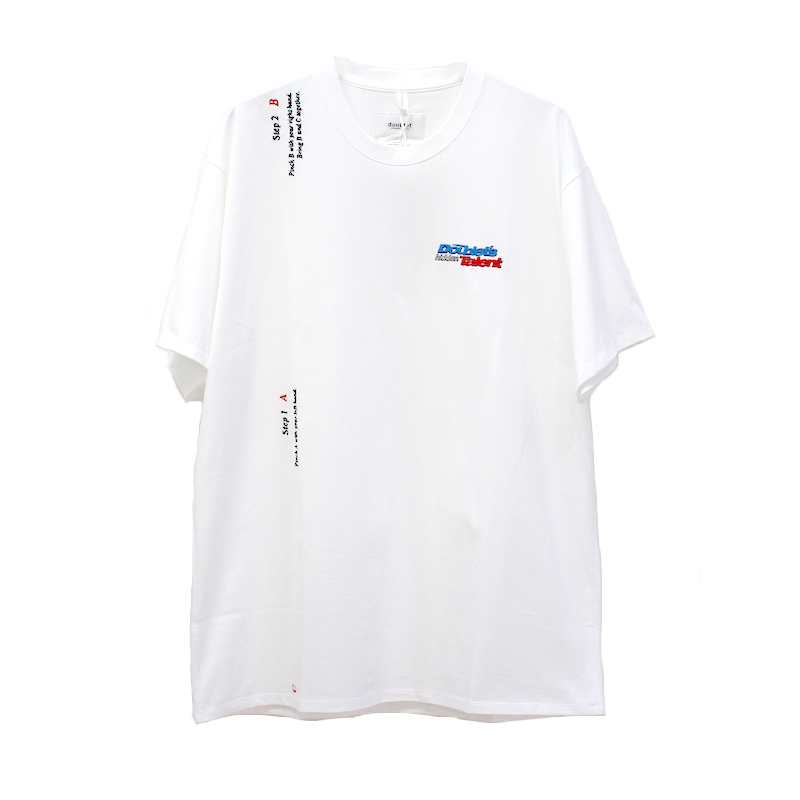 doublet 2 SECONDS HOLDING T-SHIRT WHITE