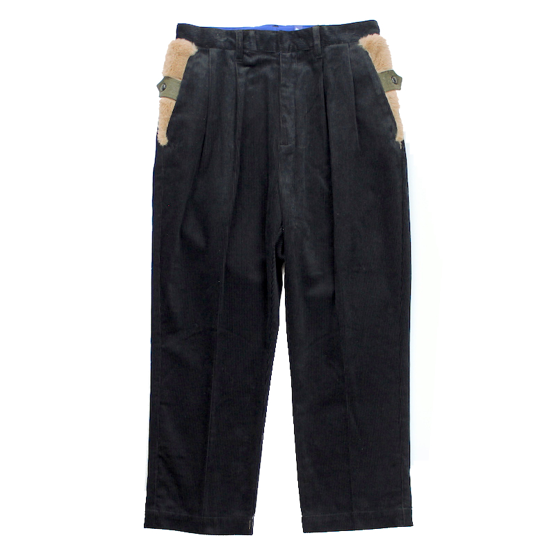 elephant TRIBAL fabrics INCOMPLETE LENGTH PT BLACK