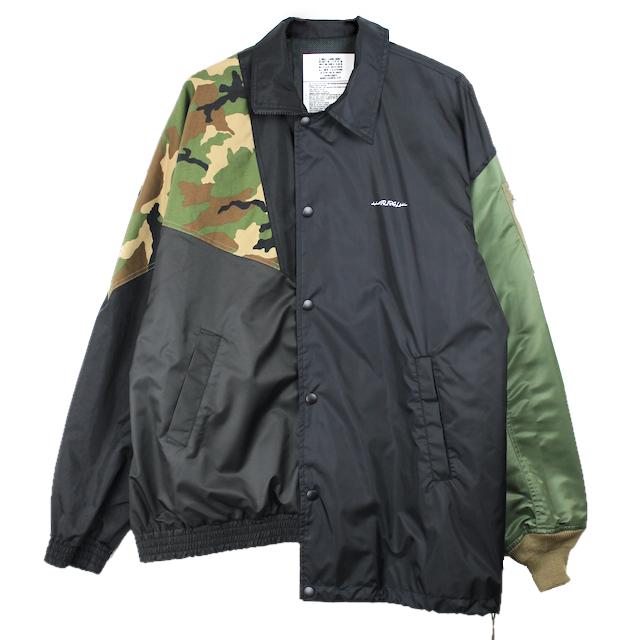 elephant TRIBAL fabrics HYBRID JKT BLACK