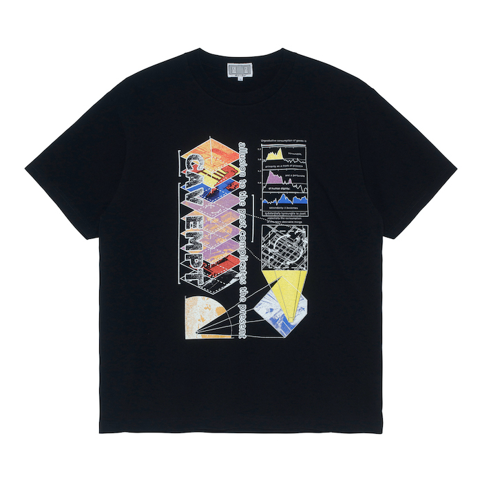 C.E/CAVEMPT ALLUSION T BLACK