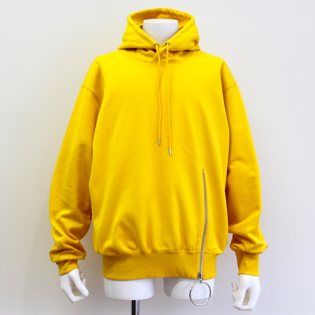 JOHNLAWRENCESULLIVAN ZIPPED SWEAT HOODIE 2カラー