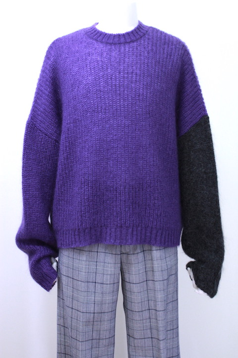 JOHNLAWRENCESULLIVAN 4B004-0118-42 CREW NECK KNIT SWEATER 2カラー