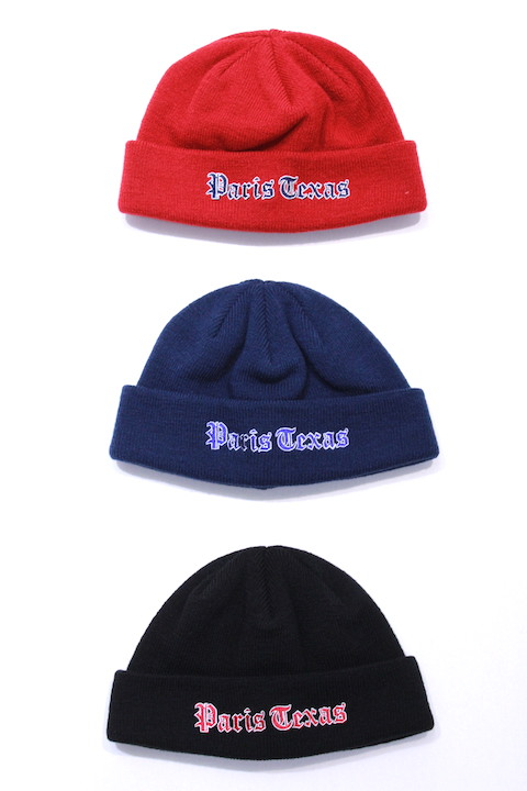 JIEDA 18W-GDO2 EMBROIDERY KNIT CAP 3カラー