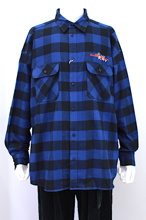 doublet 18AW14SH51 CHAOS EMBROIDERY CHECK SHIRT 2カラー