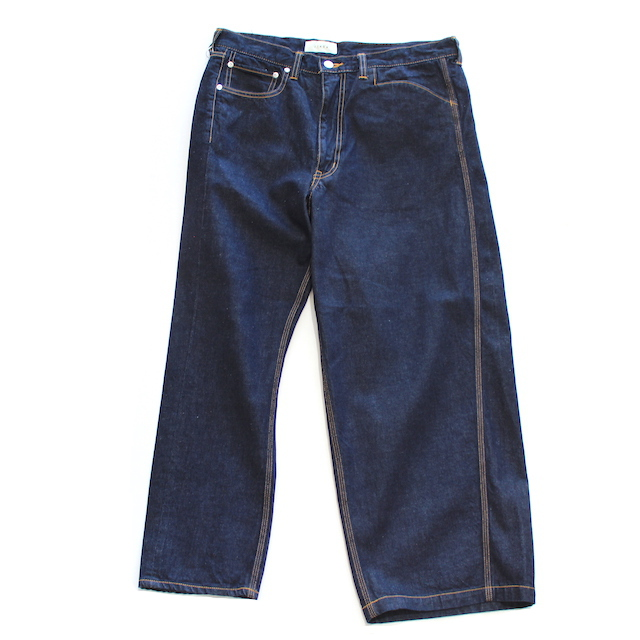 JIEDA OW ASYMMETRY DENIM PANTS