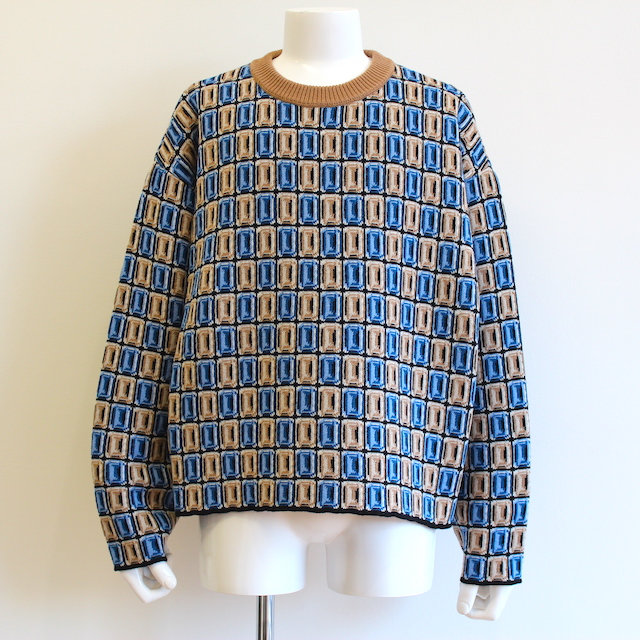 NEONSIGN JEWELZ SWEATER BLUE