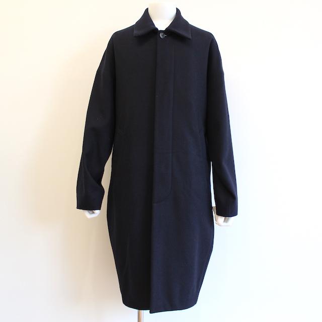 NEONSIGN COCOON (COAT) BLACK