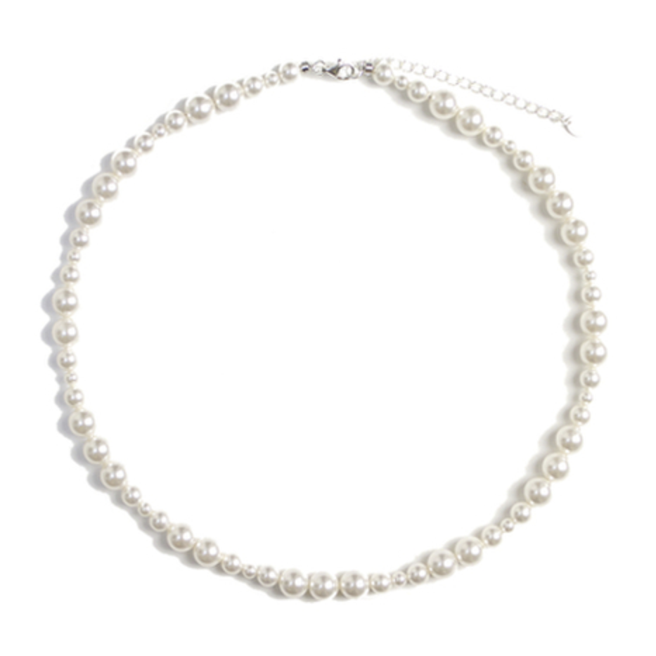 MIX PEARL NECKLACE (S)