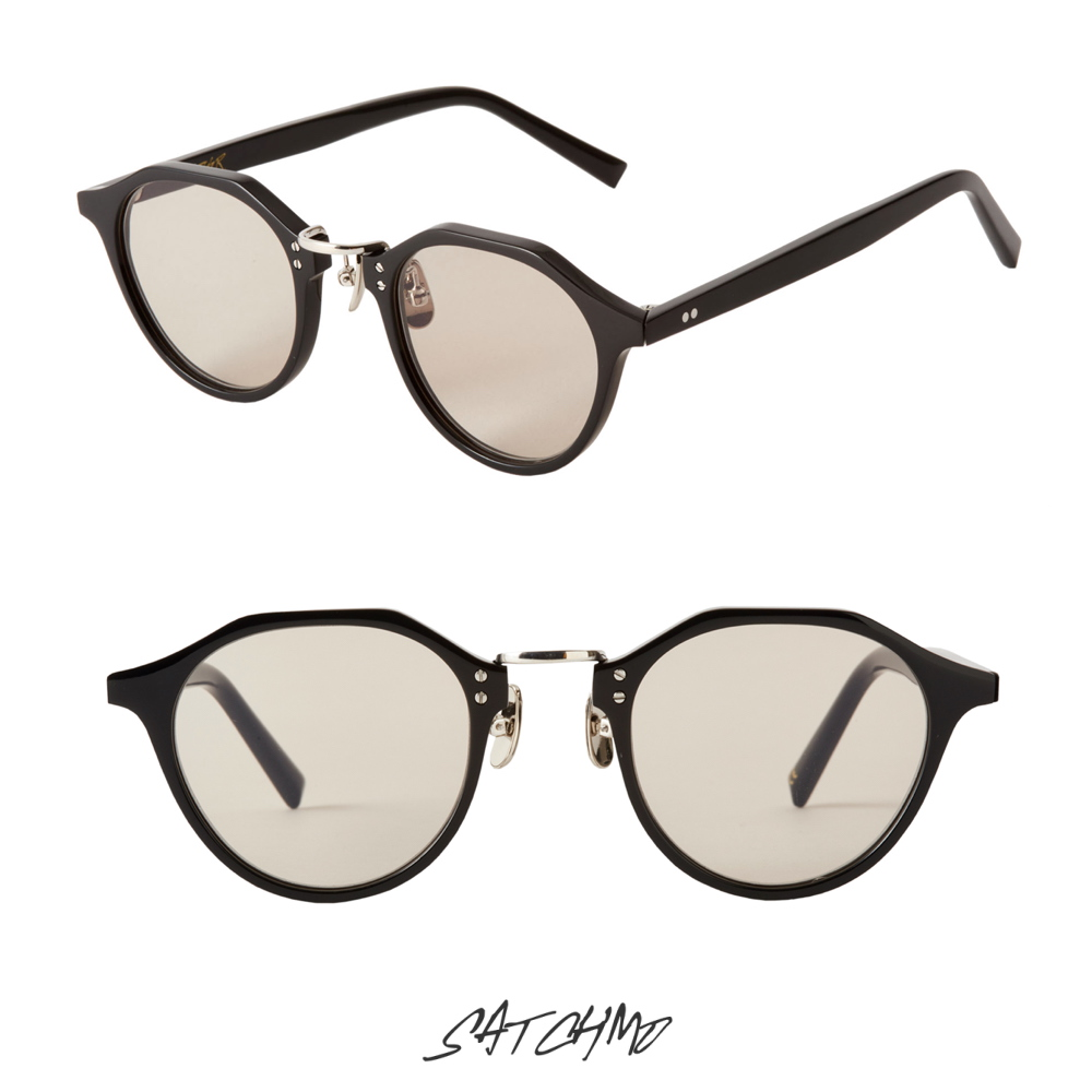 A.D.S.R SATCHMO 01b SHINY BLACK/SILVER (Lt.BROWN) 再入荷