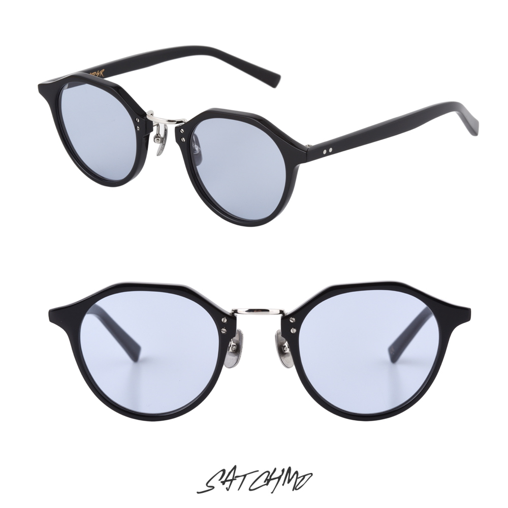 A.D.S.R SATCHMO 01a SHINY BLACK/SILVER (Lt.BLUE) 再入荷