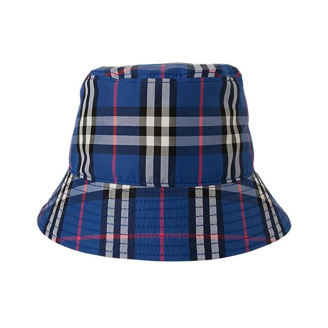 NEONSIGN TARTAN CHECK BUCKET HAT
