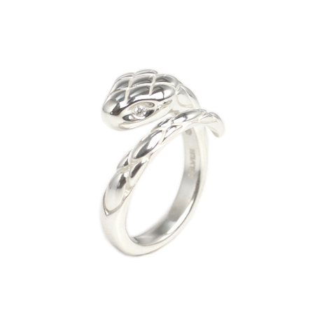 SNAKE RING (with diamond)