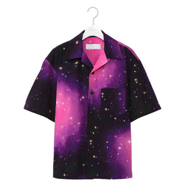NEONSIGN COSMO NEBRA COTTONTWILL SHIRT HS PURPLE