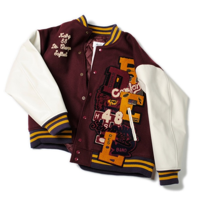30%OFF doublet/ダブレット CHAOS LETTERD STADIUM JACKET
