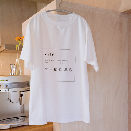KUDOS CARE-TAG T-SHIRT 3カラー