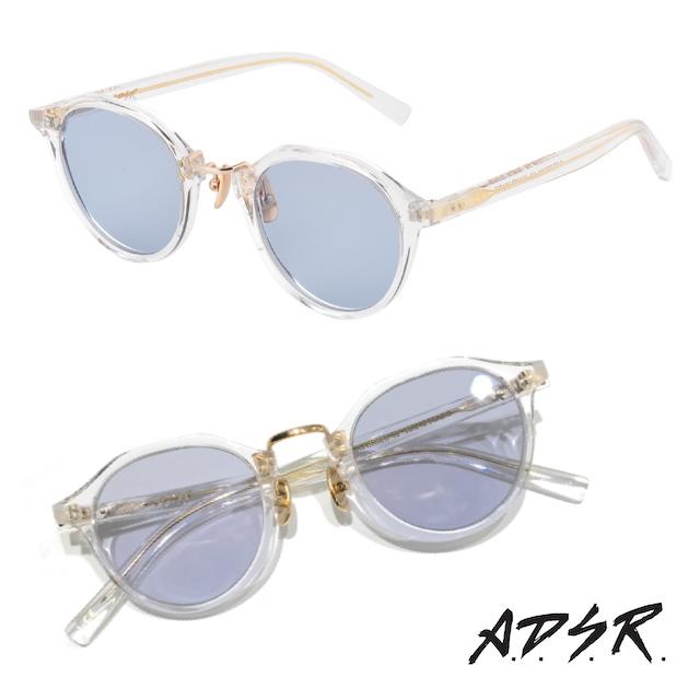 A.D.S.R SATCHMO 03a CLEAR/GOLD (Lt.BLUE)