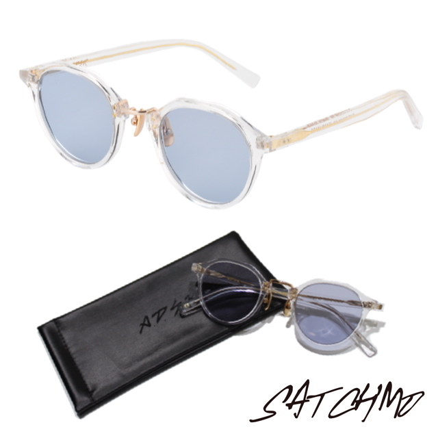 A.D.S.R SATCHMO 03a CLEAR/GOLD (Lt.BLUE)