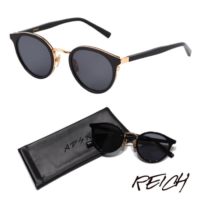 A.D.S.R REICH 01 SHINY BLACK/GOLD (BLACK)