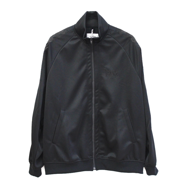 doublet CHAOS EMBROIDERY TRACK JACKET BLACK