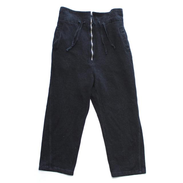 YSTRDY's TMRRW 11oz DENIM PHAT EASY PANTS BLACK