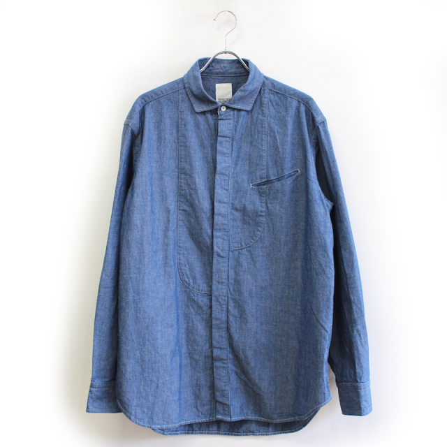 YSTRDY's TMRRW CHAMBRAY GROWN UP SHIRT INDIGO