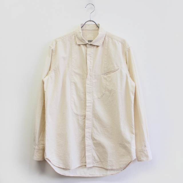 YSTRDY's TMRRW CHAMBRAY GROWN UP SHIRT OFF WHITE