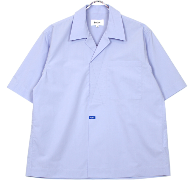 KUDOS VERCRO TAPE KUDOS SHIRT BLUE