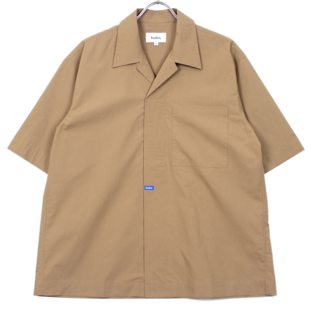 KUDOS VERCRO TAPE KUDOS SHIRT BROWN