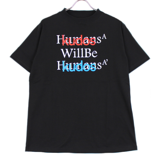 KUDOS BLUFCAMP/KUDOS T-SHIRT BLACK