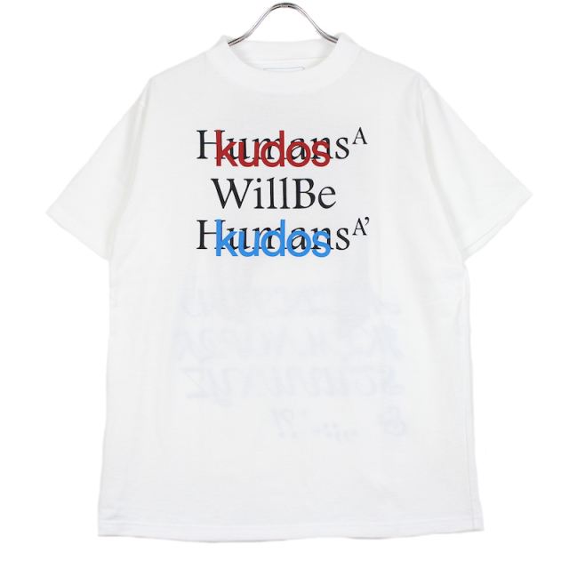 KUDOS BLUFCAMP/KUDOS T-SHIRT WHITE