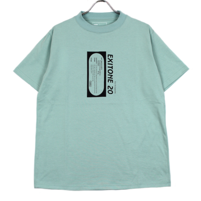KUDOS EXIT ONE T-SHIRT GREEN
