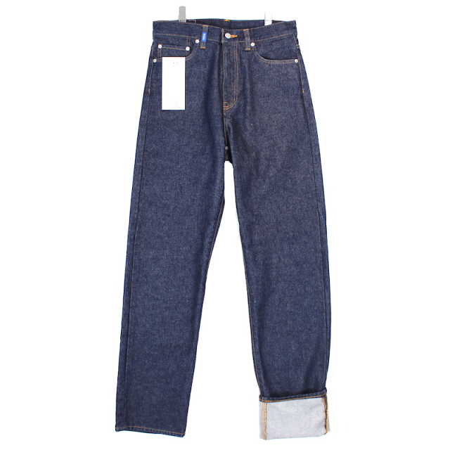 KUDOS ONE LONG DENIM TROUSERS INDIGO