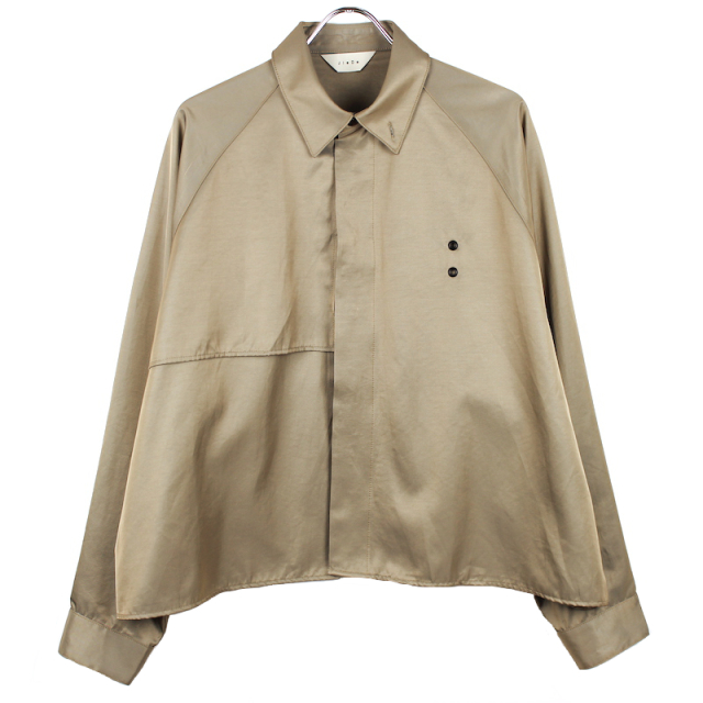 JIEDA TRENCH SHIRT BEIGE